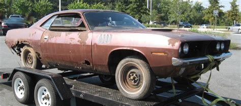 Shell Garage Plymouth by Autumn Bronze Metallic 1971 Plymouth Cuda For Sale Mcg