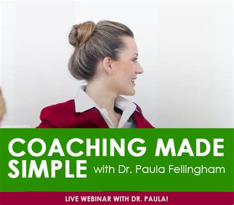coaching made simple paulafellingham