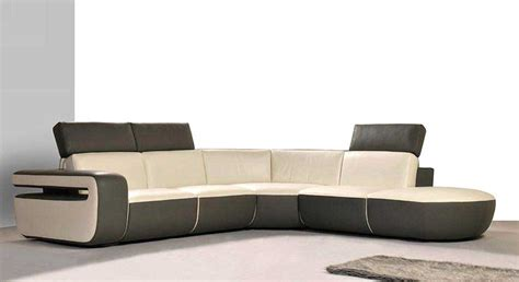 modern sofa leather modern leather sectional sofa he 800 leather sectionals