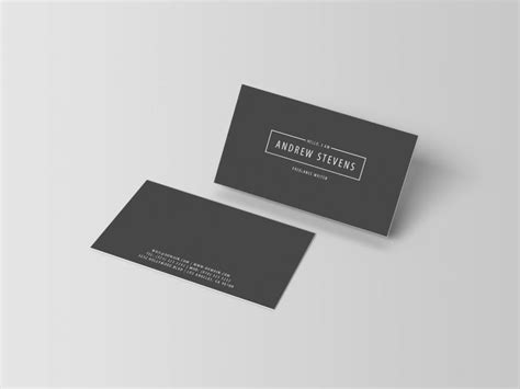 minimal business card template minimal business cards j32 design