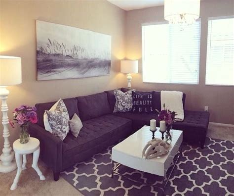 dark purple sofa 18 best pink and grey images on pinterest home ideas