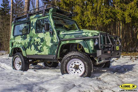 land rover camo land rover defender line x camo защитная маскировка