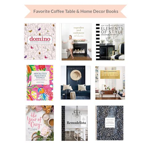home decor books favorite home decor coffee table books