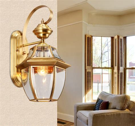 Bedroom Sconces Lighting Antique Bronze Wall Sconce Gold Color Hotel Wall Ls Modern Wall Lights Bedroom Led Wall