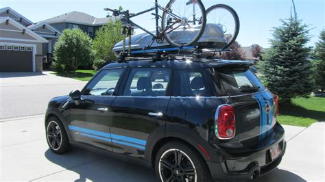 rails bike rack cargo box for countryman