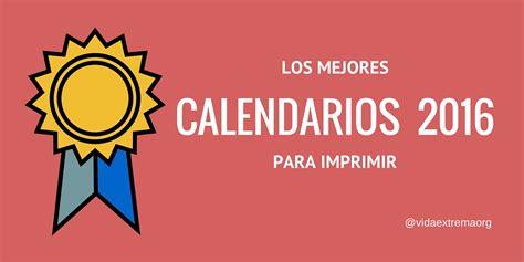 Calendario Gratis Calendarios 2016 Gratis Para Imprimir Paralideres Org