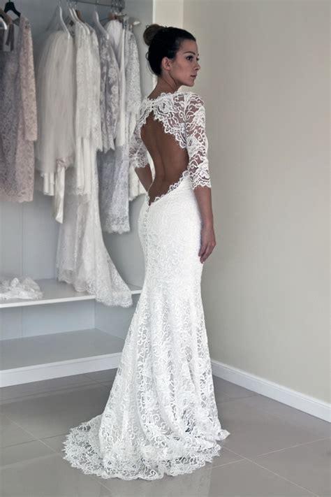 hochzeitskleid aus spitze wedding dresses with open back 2018 fashiongum