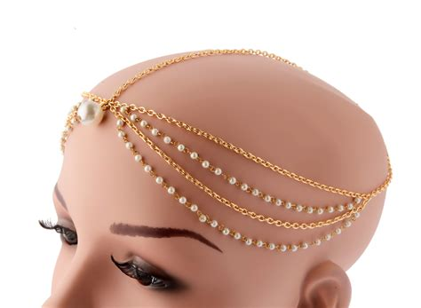 Real Deals In Home Decor by Buy Multi Strand Maang Tikka Online Head Piece