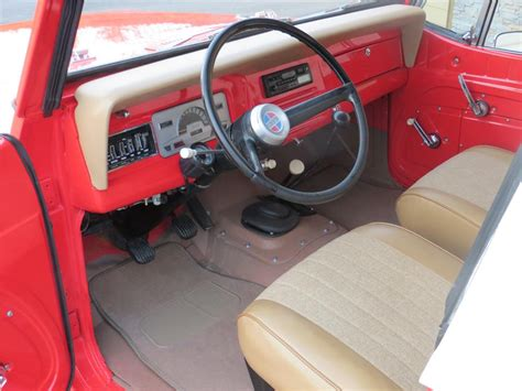 jeep jeepster interior 1970 jeep jeepster commando 4x4 181425