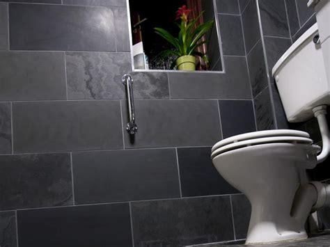 black slate bathrooms black slate bathroom 2017 grasscloth wallpaper