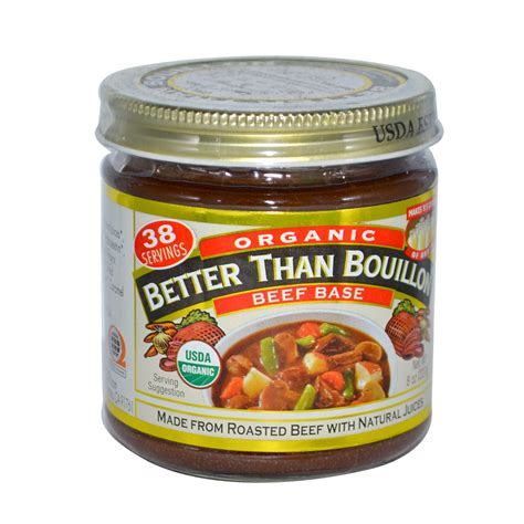 beef better than bouillon better than bouillon organic beef base 8 oz 227 g