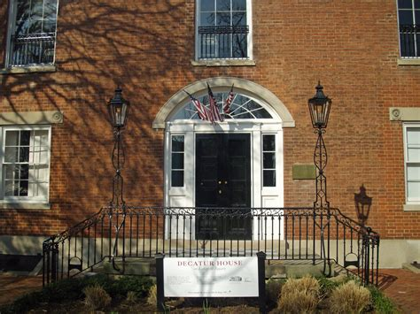 Decatur House Dc by Stephen Decatur House Remains Special