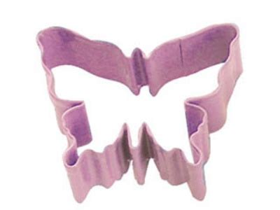 Butterfly For Mini 1234 butterfly shaped cookie cutter pink