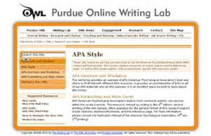purdue owl apa format template 9 best images of grant exle apa style apa