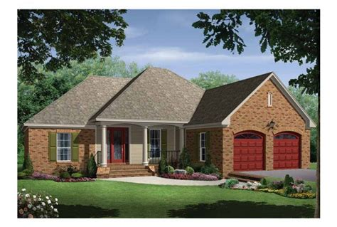 cost to build a 1500 sq ft home eplans bungalow house plan charming brick bungalow