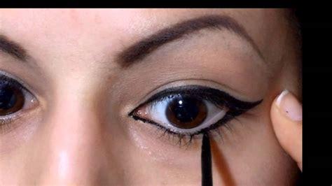 tutorial eyeliner penna applicare l eyeliner non 232 mai stato cos 236 facile youtube