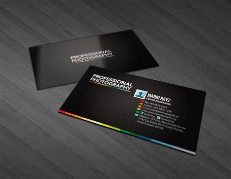 Free Card Templates For Photographers 2011 by Photography Business Card By Lemongraphic On Deviantart