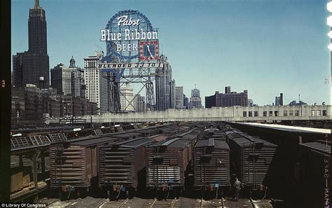 in color chicago library of congress colour photographs of the great