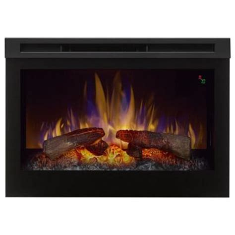dimplex electric fireplace insert home depot dimplex 25 in electric firebox fireplace insert dfr2551l