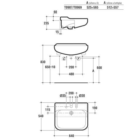 lavabi bagno ideal standard conca lavabo 640x540 semincasso bianco ideal standard 3