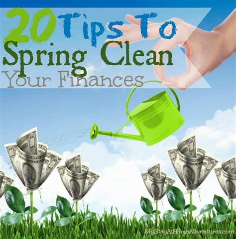 Spring House Cleaners by 20 Tips To Spring Clean Your Home Finances Today