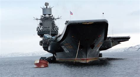 portaerei russe russia to send aircraft carrier admiral kuznetsov to