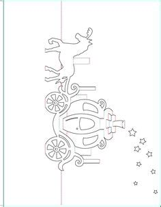 free pop up card templates walt disney cinderella carriage pop up card free paper