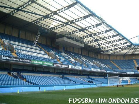 Chelsea Fc Shed End by Stamford Bridge Stadion Chelsea Fc