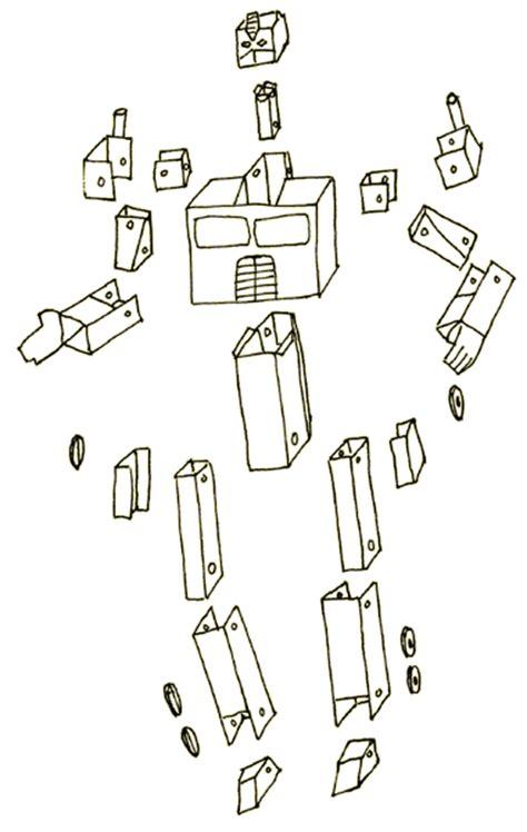 How To Make A Paper Transformer Robot - transformers como robos de papel paper robots entre outros
