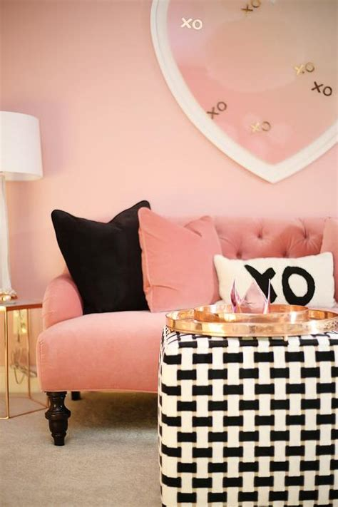 black and pink living room pink and gray living room concept design ideas