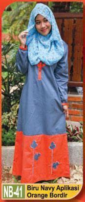 Gamis Balotely Grey Gamis Adem Gamis Remaja Dress Gaun Pesta Ori Murah gamis untuk remaja busana muslim baju muslim pusat