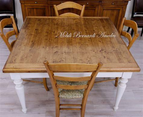 tavolo allungabili tavoli allungabili in abete massello tavoli
