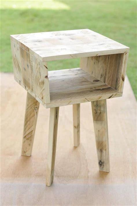 unique side tables creative pallet side table 99 pallets