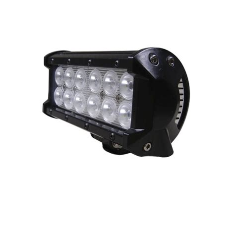 36 Led Light Bar Defcon Series Led Light Bar 6 5 Inch 36 Watt All Led