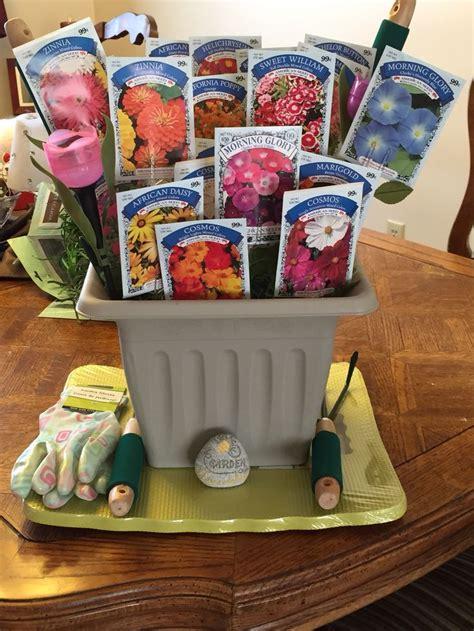 thinking spring raffle basket crafts diy gift