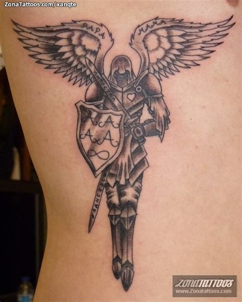 tatuaje de 193 ngeles guerreros
