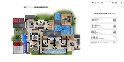 villa plans les villas intemporelles plans des villas