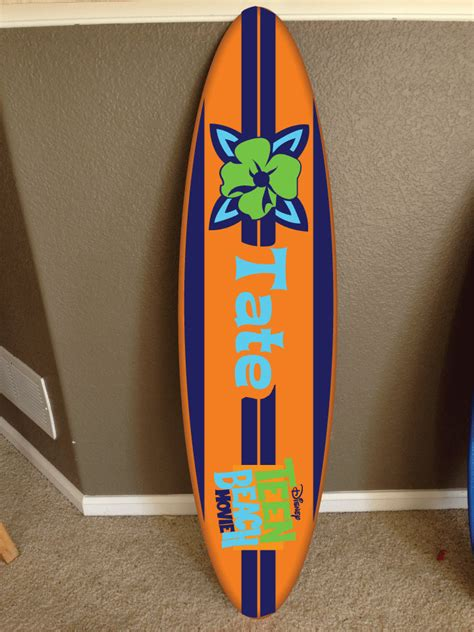wall hanging surf board surfboard decor hawaiian