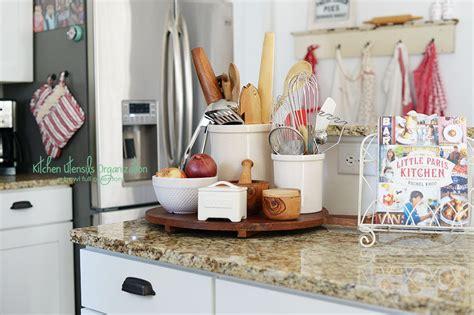 how to organize kitchen utensils kitchen utensil organization a bowl of lemons
