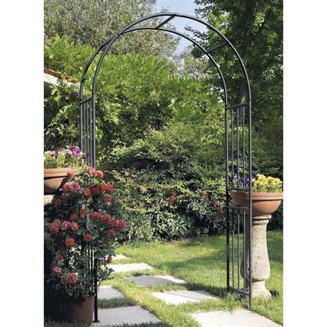 arco da giardino arco in ferro da giardino prestige archi verdemax