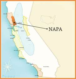 napa valley map california napa california map
