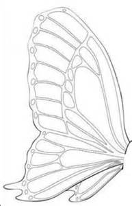 Butterfly Cake Template by 1000 Images About Butterfly Templates On
