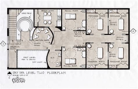 Massage Spa Floor Plans | enviedayspa rachellejewel2