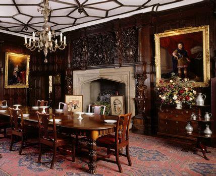 dining room  sizergh castle cumbria