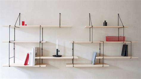 modular suspended ledges link shelf