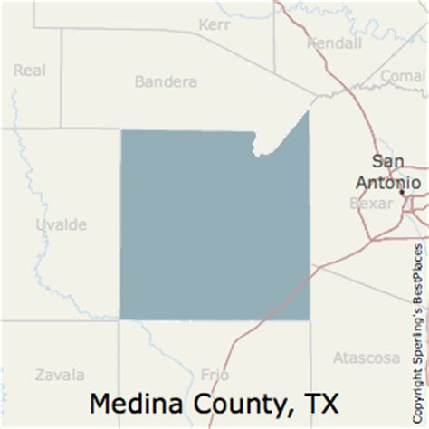 medina county texas map best places to live in medina county texas