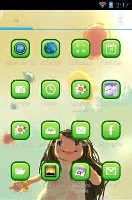 themes android cute cute android theme for adw launcher androidlooks com