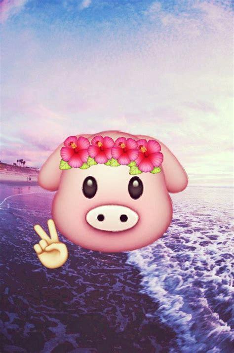 emoji pig wallpaper pig emoji wallpaper