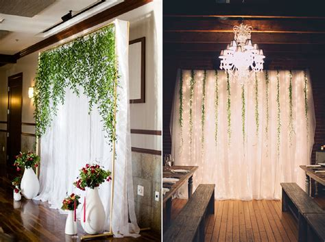 Wedding Backdrop Linen by 8 Gorgeous Pipe Drape Wedding Backdrops Bridalpulse