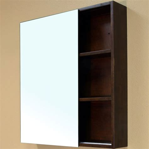 Solid Wood Cubbyie Frame Mirror Cabinet By Bellaterra Home Wood Bathroom Medicine Cabinets With Mirrors